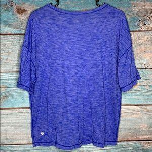 Lululemon Athletica Blue T shirt Top
